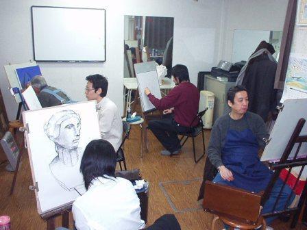 絵画教室アトリエスペイン