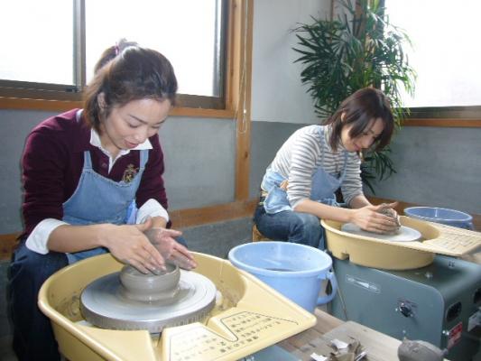常滑焼陶芸教室『光きゅうす』